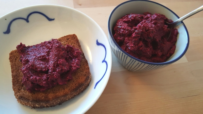 Beetroot tapenade 3
