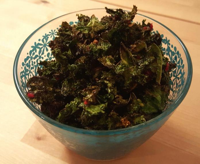 Kale crisps take 2