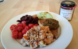salmon egg tapenade