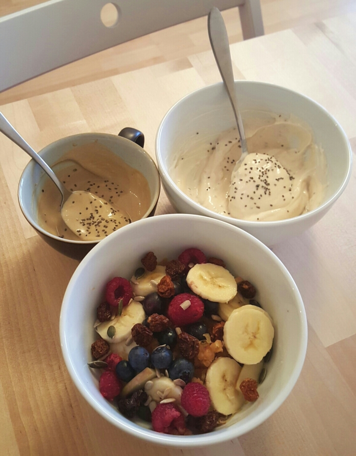 Spiced apple oat bowl 3