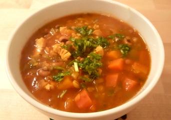 Black bean soup2