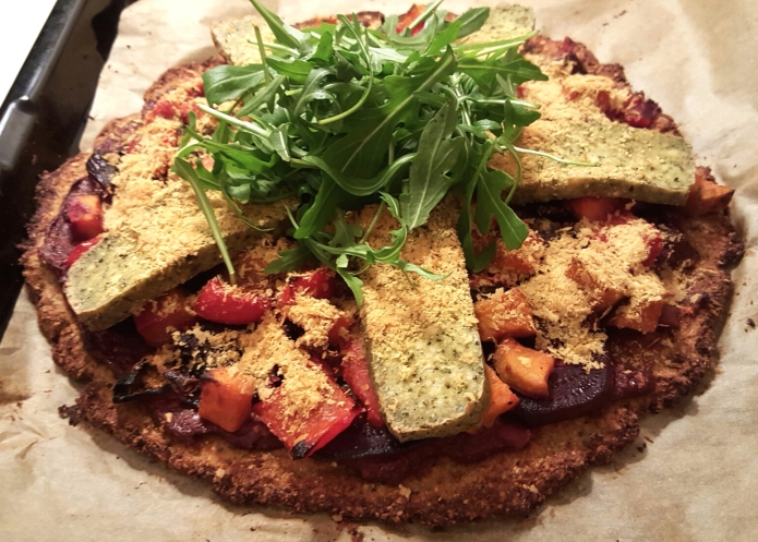 Vegan pizza 17b