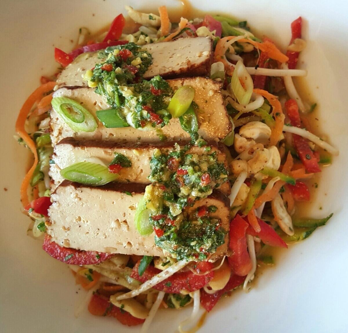 Vegan Thai Salad/ Pad Thai