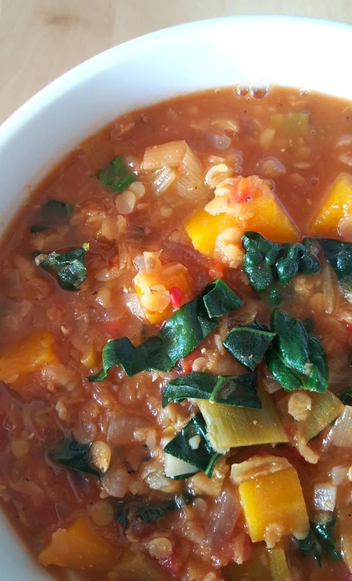Kale lentil soup 22