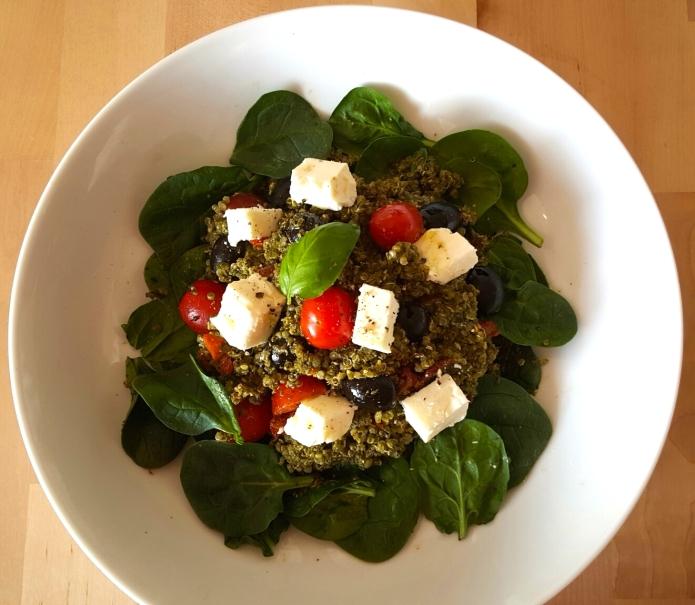 Pesto quinoa 1 Feta
