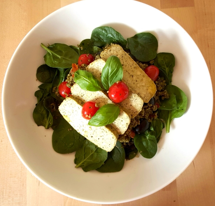 Pesto quinoa 11