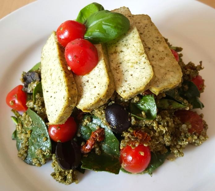 Pesto quinoa 21