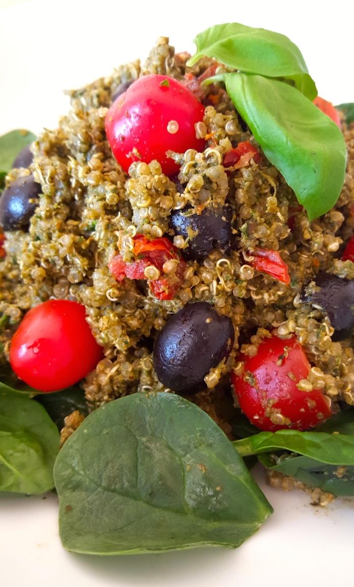 Pesto quinoa 3