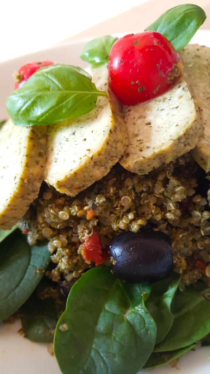 Pesto quinoa 6