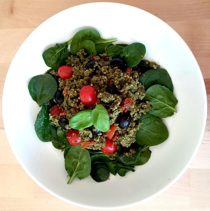 Pesto quinoa 8