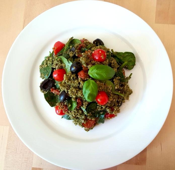 Pesto quinoa 9