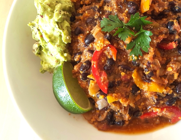 Vegan chilli 6