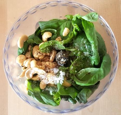 Broccoli rice pesto 18 prep