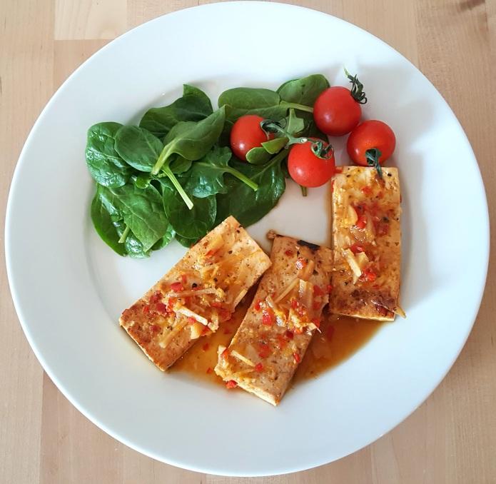 Orange tofu 1