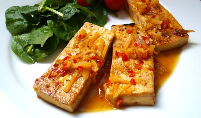 Orange tofu 6