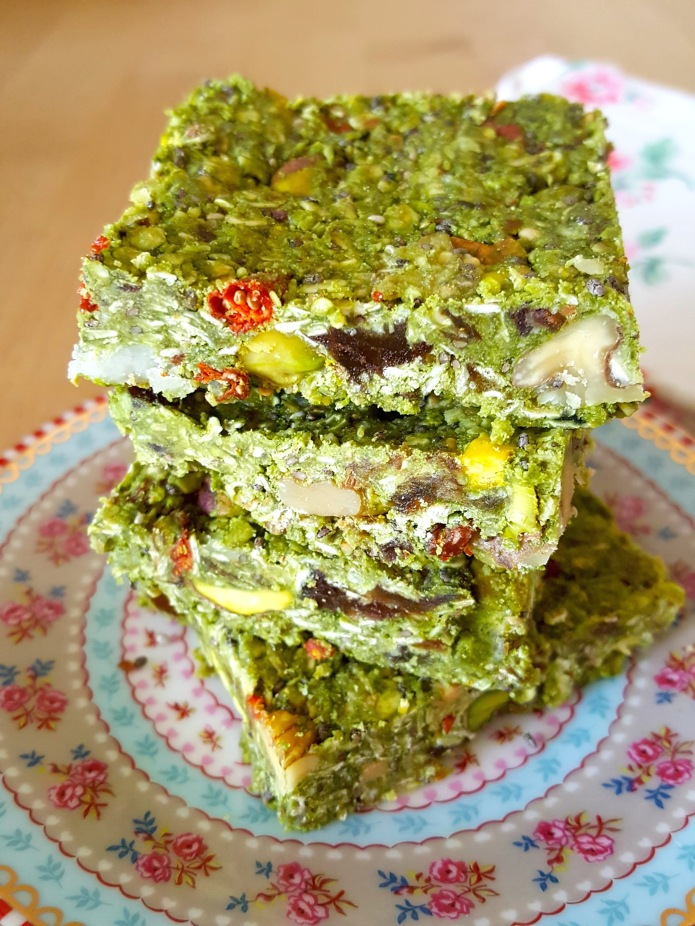 Green tea oat bar 2