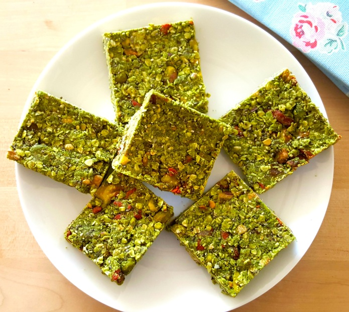 Green tea oat bar 4