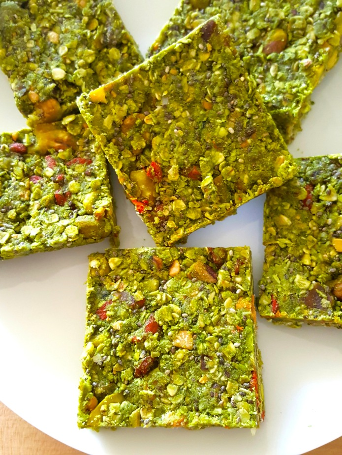 Green tea oat bar 8