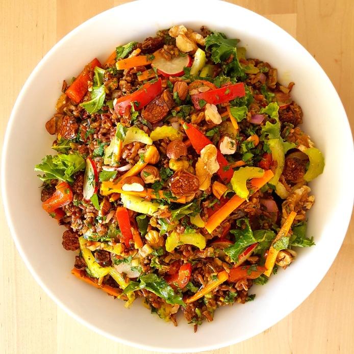 Rice salad 22