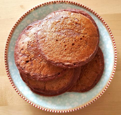 Acai pancakes 1