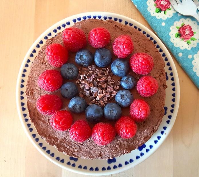 Choc tart 34