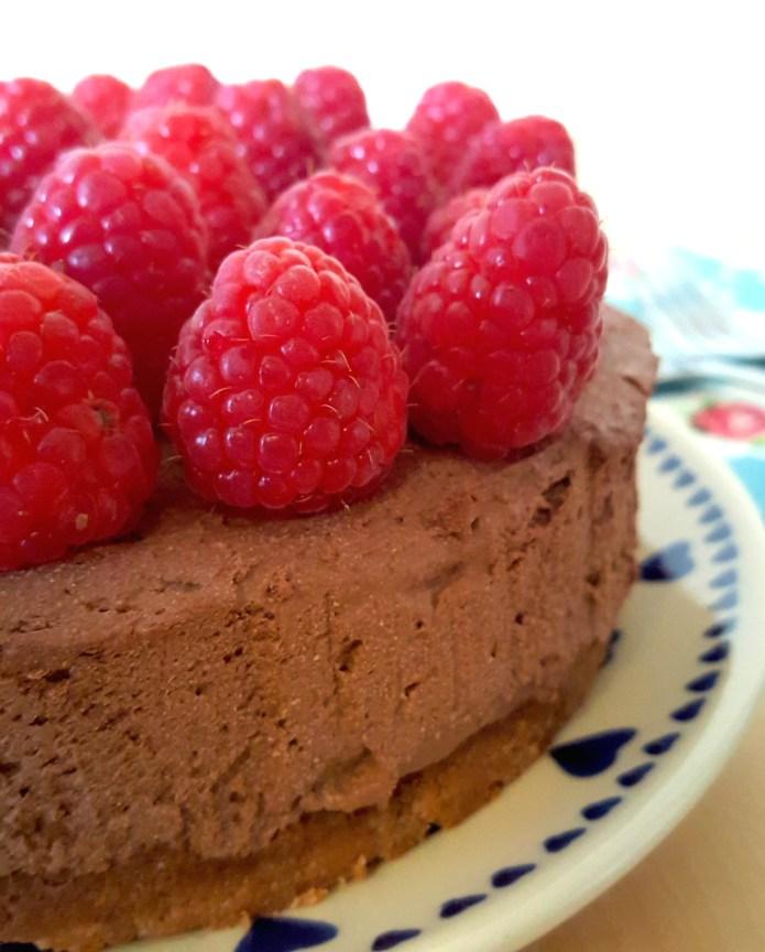 Choc tart raspberry 5