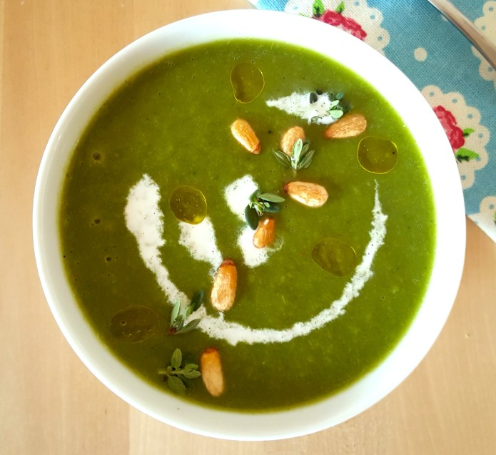 Pea and kale soup 11