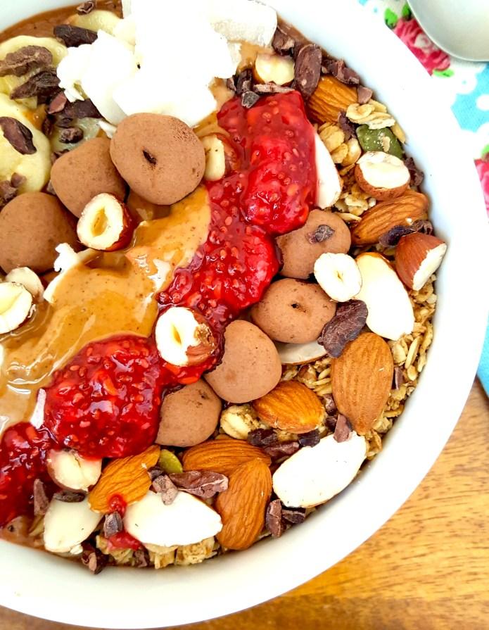Peanut butter choc bowl 9