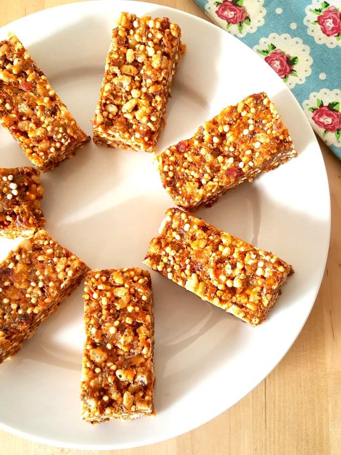 Quinoa bars 6