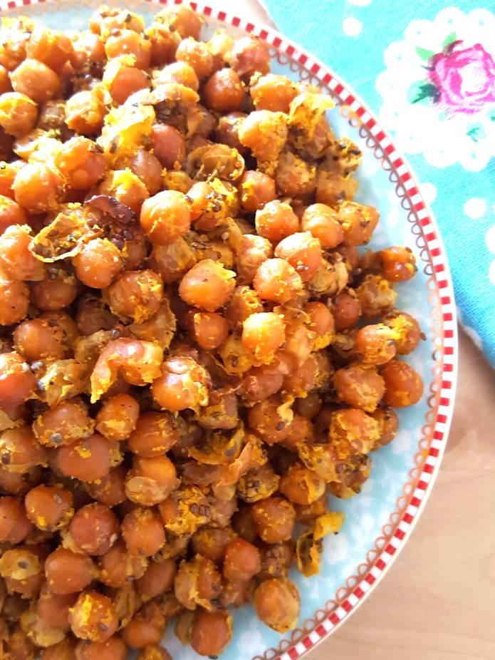 Turmeric chick peas 1