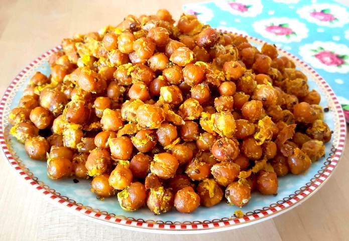 Turmeric chick peas 16