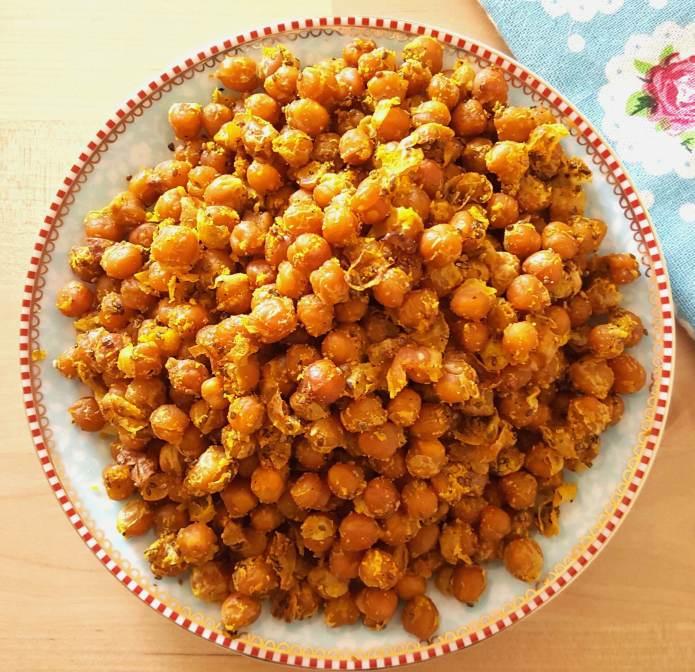 Turmeric chick peas 3