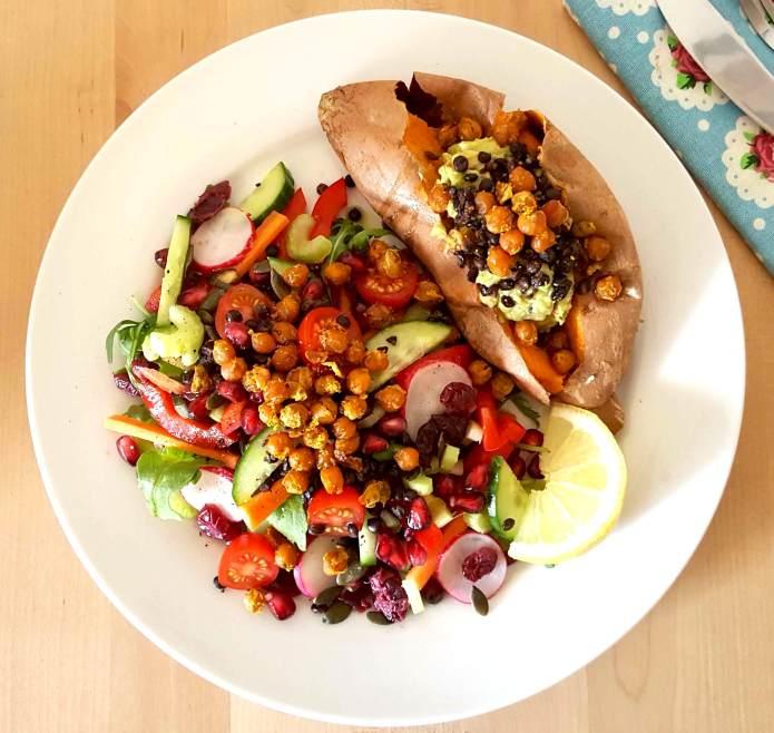 Turmeric chick peas 43