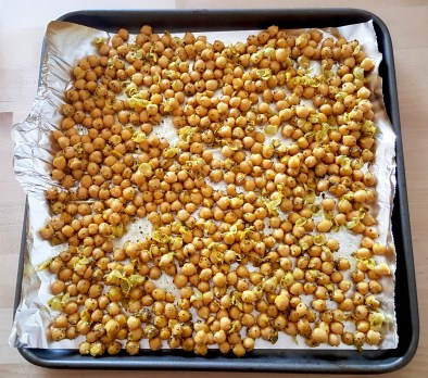 Turmeric chick peas prep 1