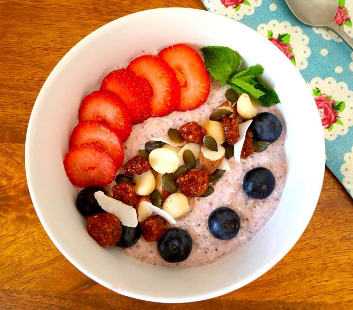 Strawberry oats 12