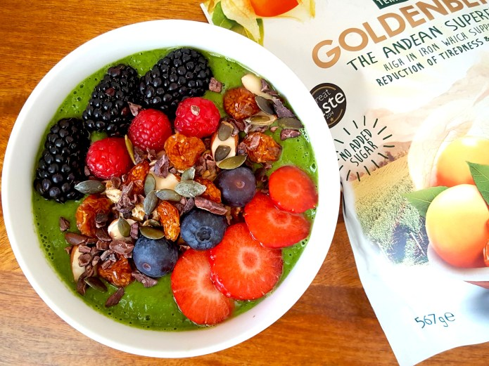 Green smoothie bowl 33