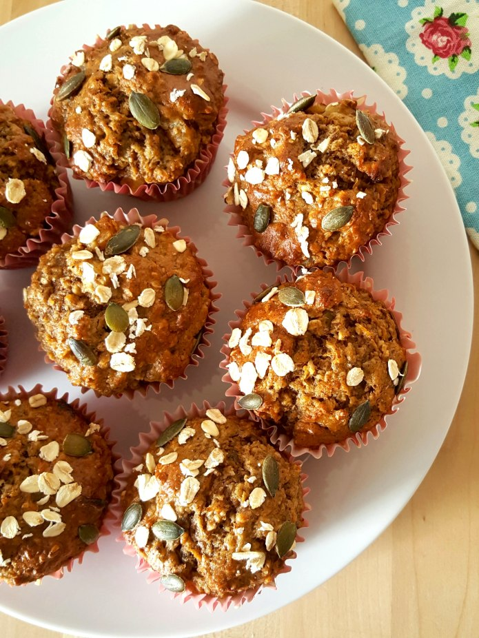 Carrot muffins 19