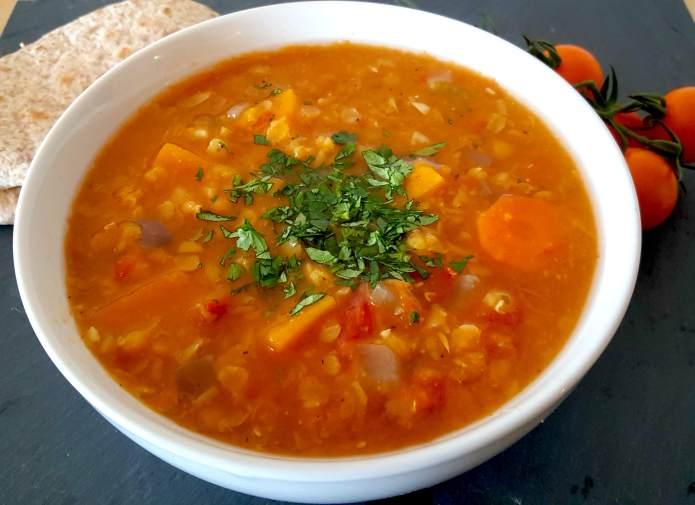 Lentil soup 11