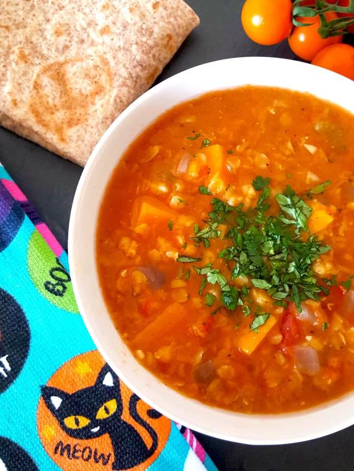 Lentil soup 5