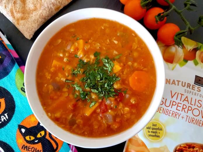 Lentil soup 6
