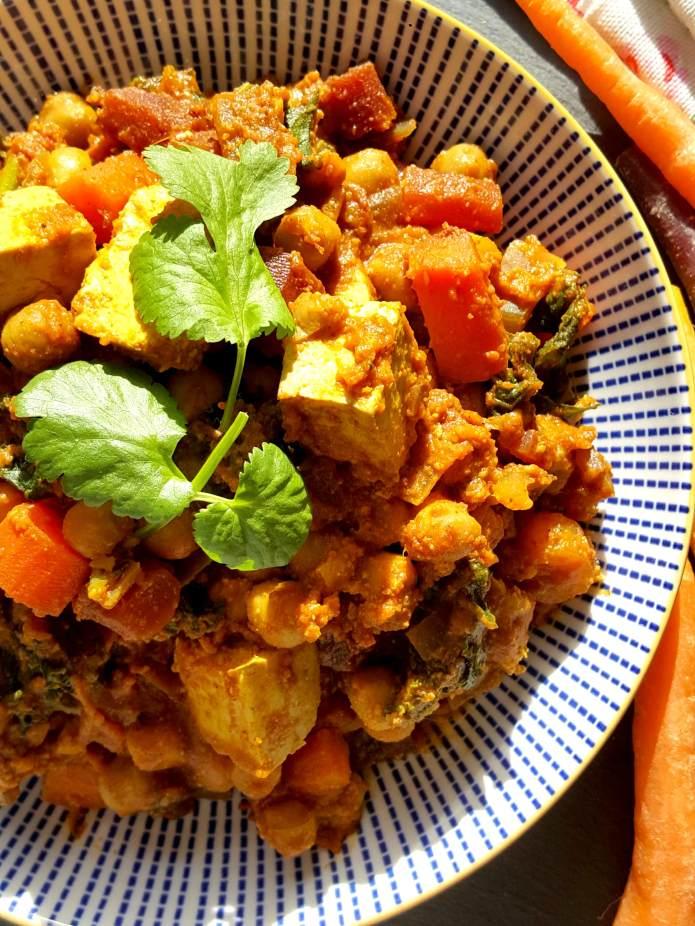 Tofu curry 14