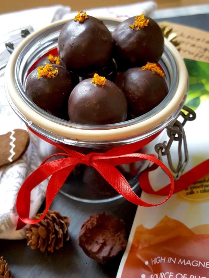 Choc orange truffles 23