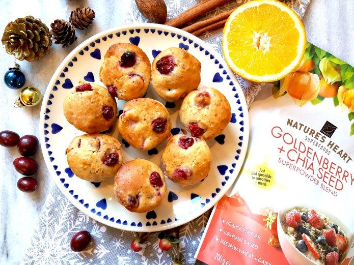 Orange cranberry muffins 14
