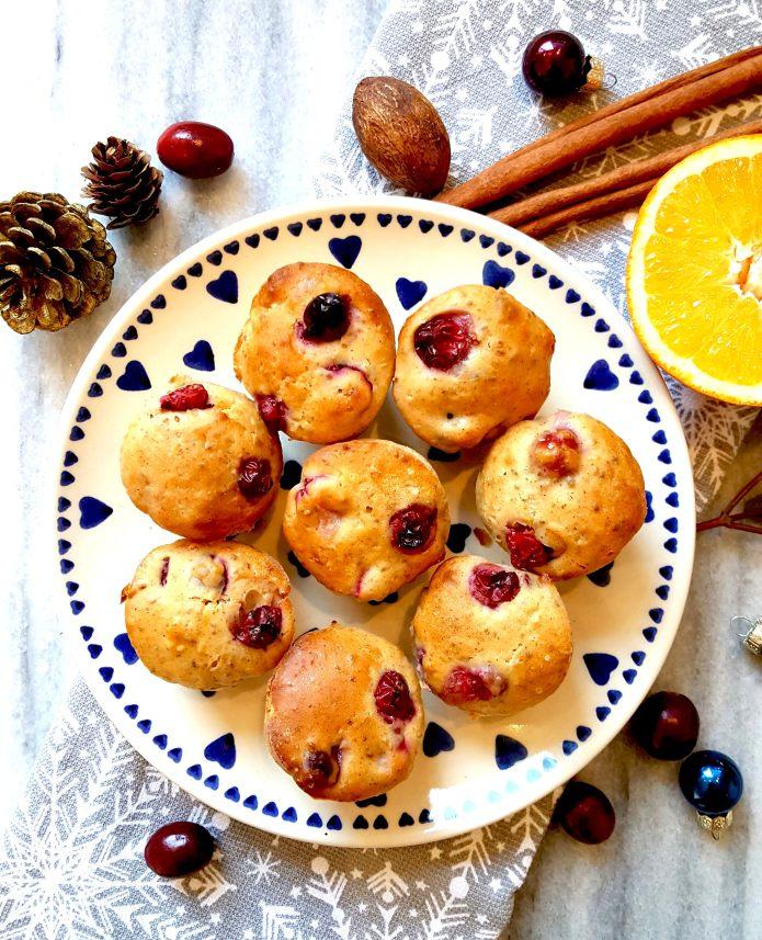 Orange cranberry muffins 20