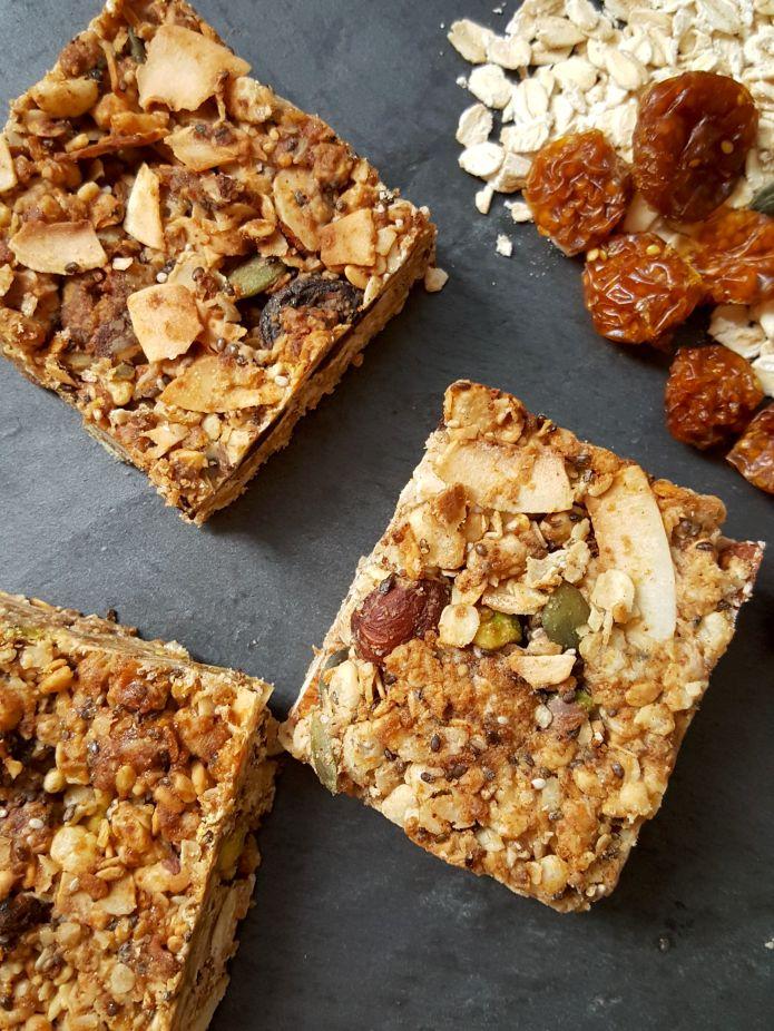Cinnamon granola bars 3