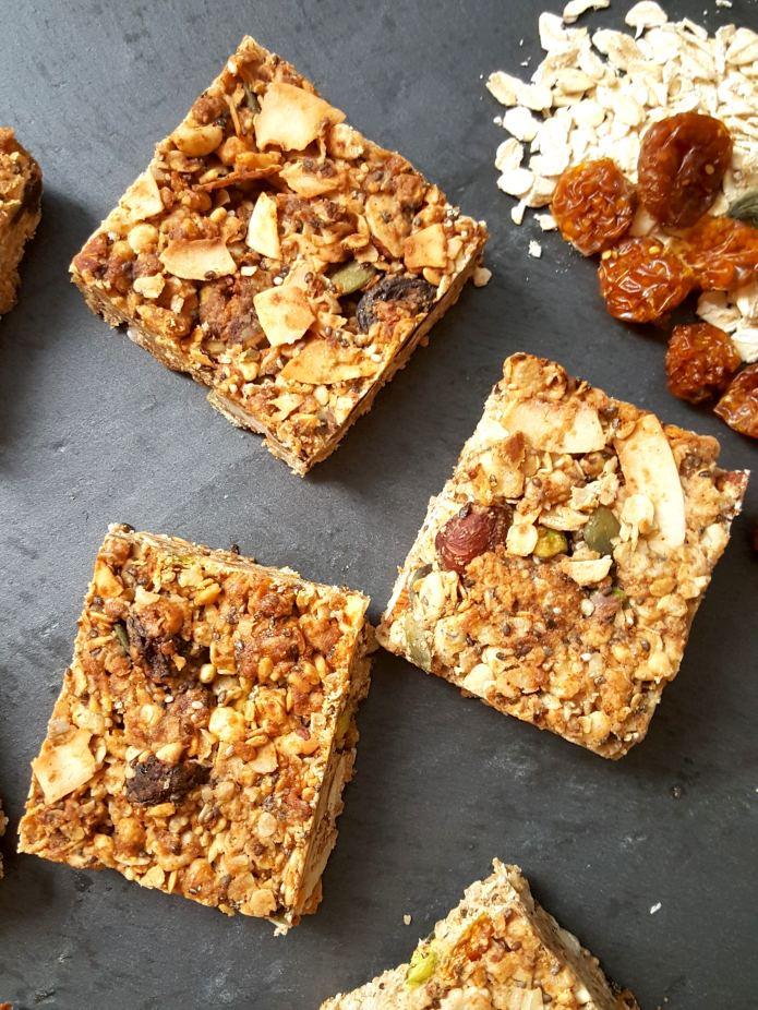 Cinnamon granola bars 5
