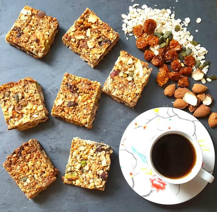 Cinnamon granola bars 7