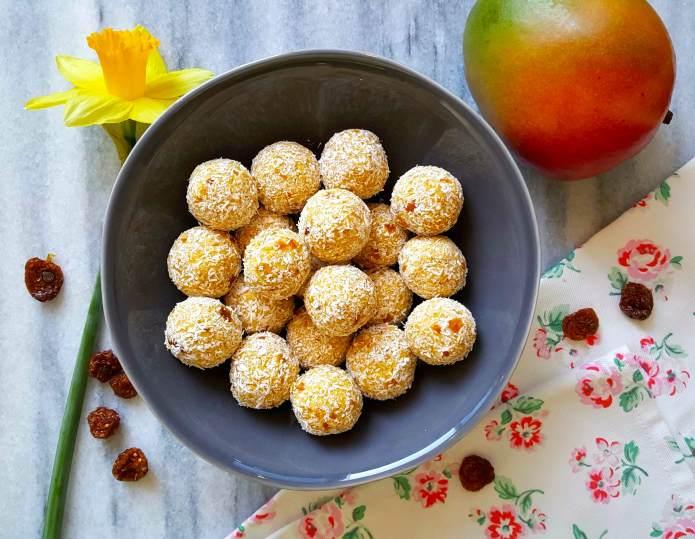 Mango balls 1