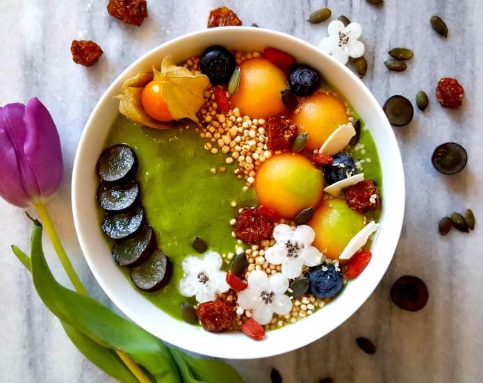 Melon smoothie 6