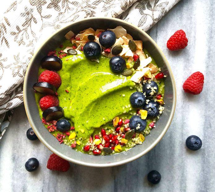 Green nice cream